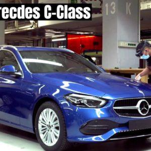2022 Merecdes C-Class Maximum Flexibility and Efficiency Production