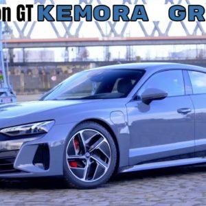 Audi e tron GT in Kemora Grey