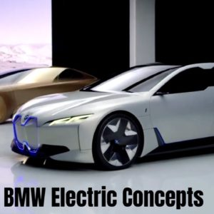 BMW Electric Concept Cars Leading To The i4