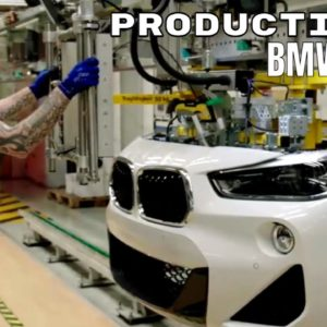 BMW X2 Production with Exoskeletons in Germany 2021