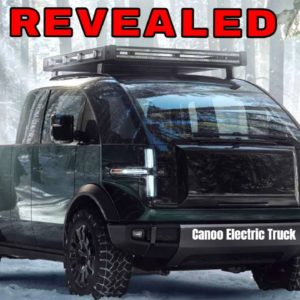 Canoo Electric Pickup Truck Revealed