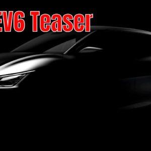 Dedicated New Electric Kia EV6 Teaser Before Reveal