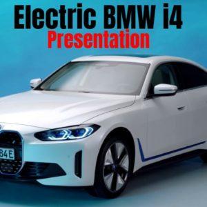 Electric BMW i4 Presentation