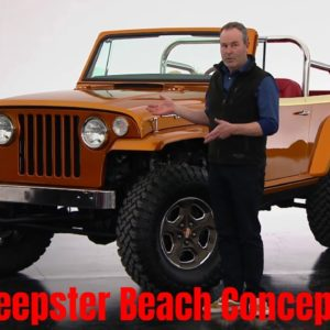 Jeepster Beach Concept 2021 Easter Jeep Safari