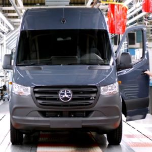 Mercedes Vans Production in Germany