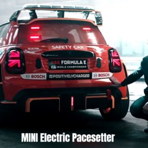 MINI Electric Pacesetter Safetycar