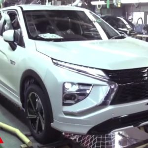 Mitsubishi Cross PHEV Production Factory