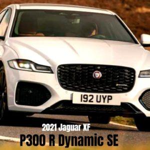 New 2021 Jaguar XF P300 R Dynamic SE