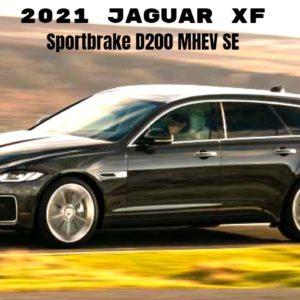 New 2021 Jaguar XF Sportbrake D200 MHEV SE Diesel