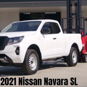 New 2021 Nissan Navara SL Truck