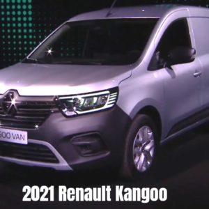 New 2021 Renault Kangoo Van Revealed