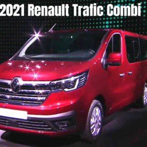 New 2021 Renault Trafic Combi