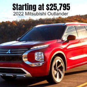 New 2022 Mitsubishi Outlander Pricing Announced