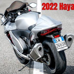 New 2022 Suzuki Hayabusa Closer Look