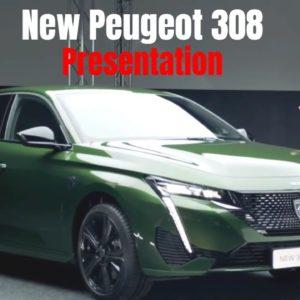 New Peugeot 308 Presentation