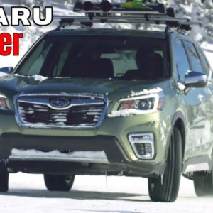 New Subaru Forester Touring on Snow