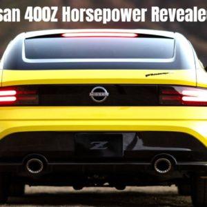 Nissan 400Z Horsepower Revealed?