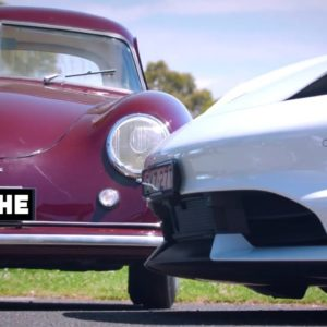 Porsche 356 Meets Taycan in Australia