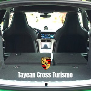Porsche Taycan Turbo S and 4S Cross Turismo Interior