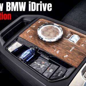 The New BMW iDrive Reveal Presentation