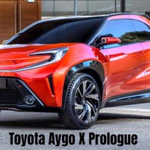 Toyota Aygo X Prologue Revealed
