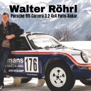 Walter Röhrl Driving The Porsche 911 Carrera 3.2 4x4 Paris Dakar