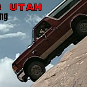 1989 Ford Bronco Off Roading at Moab Utah