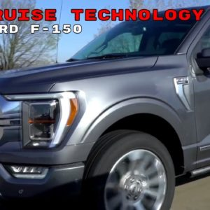 2021 Ford F150 BlueCruise Technology