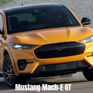 2021 Ford Mustang Mach-E GT