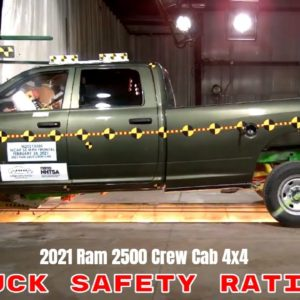 2021 Ram 2500 Crew Cab 4x4 Truck Safety Rating