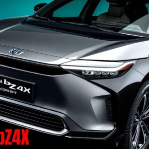 2021 Toyota bZ4X Concept CTO Reveal In English