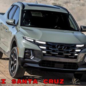 2022 Hyundai Santa Cruz Truck Revealed