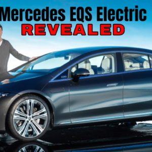 2022 Mercedes EQS Electric Luxury Vehicle Revealed