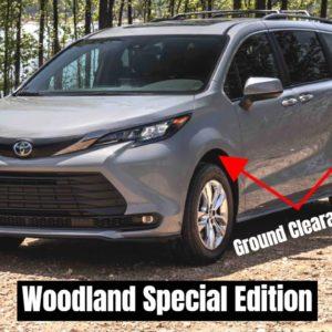 2022 Toyota Sienna Woodland Special Edition Rugged Minivan