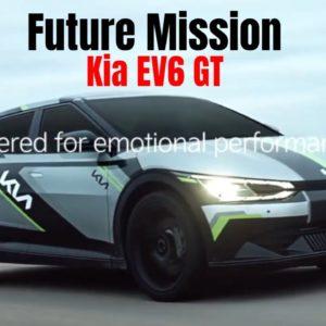 577 Horsepower Kia EV6 GT Future Mission