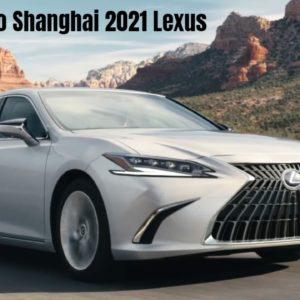 Auto Shanghai 2021 Lexus Press Conference