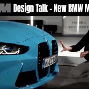 Design Talk New BMW M4 vs BMW M4 GT3