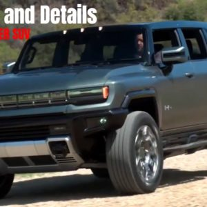 Electric HUMMER EV SUV Product Features and Details