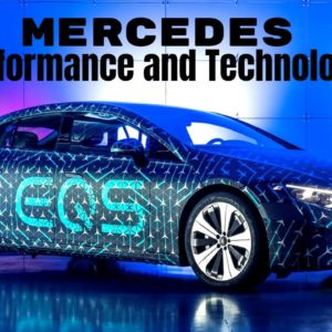 Electric Mercedes EQS Performance and Technology