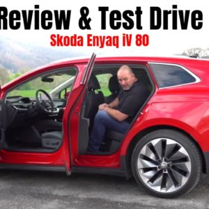 Electric Skoda Enyaq iV 80 Review and Test Drive