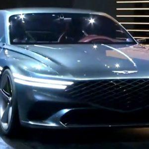 Genesis X Concept Revealed at Auto Shanghai 2021