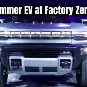 GMC Hummer EV SUV and Truck at Factory Zero