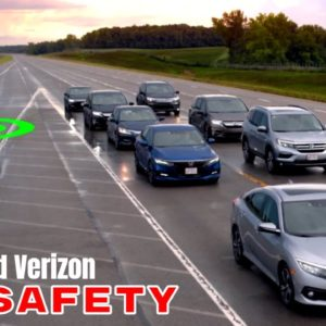 Honda and Verizon 5G Safety for Connected and Autonomous Vehicles