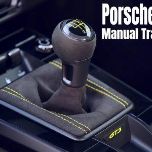 Interior of Porsche 911 GT3 Manual Transmission