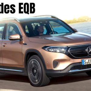 Mercedes EQB Electric SUV 2022