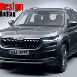 New 2021 Skoda Kodiaq Facelift Design