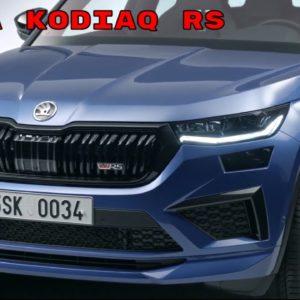 New 2021 Skoda Kodiaq RS