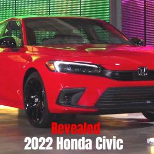 New 2022 Honda Civic Revealed