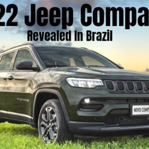 New 2022 Jeep Compass Revealed In Brazil