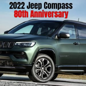 New Jeep Compass 80th Anniversary 2022 in Blue Shade